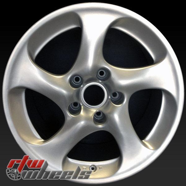 18 inch Porsche 911 OEM wheels 67260 part# 99636213601