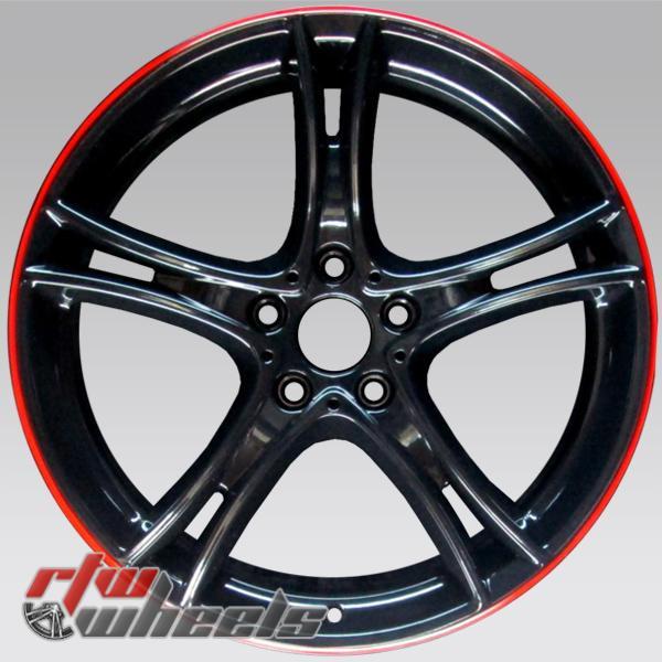 20 inch BMW 3 Series OEM wheels black redline 71553 part# 36116854612