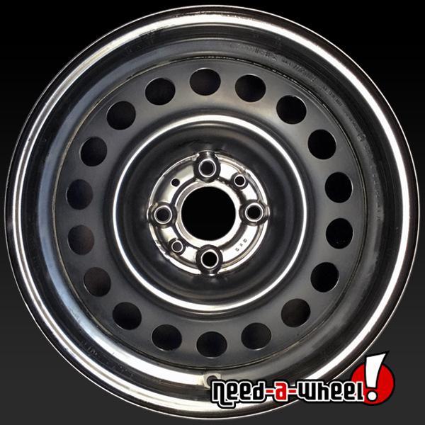 15 inch Fiat 500 steel wheels 61659 part# 04726135AA