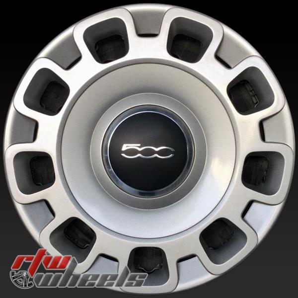 15 inch Fiat 500 OEM wheels 61659 part# 68078420AC