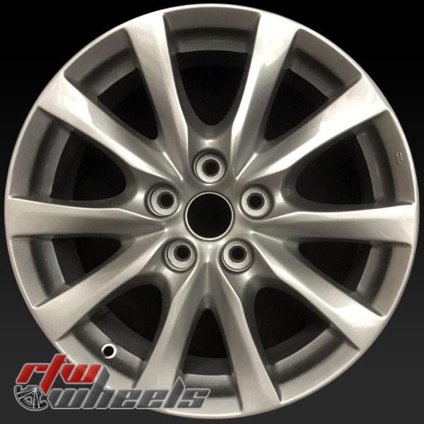 17 inch Mazda 6 OEM wheels 64957 part# 9965077570, 9965087570
