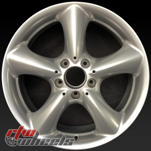 17 inch Mercedes C Class OEM wheels 65382 part#  2034013502