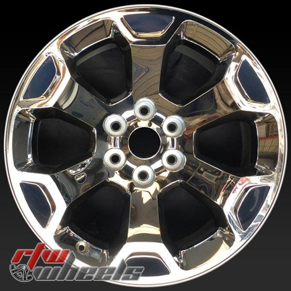 20 inch Dodge Ram 1500 OEM wheels 2680 part# 5YD56SZ0AA