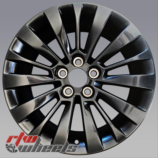 18 inch Black Cadillac CTS OEM wheels 4715 part# 20984817