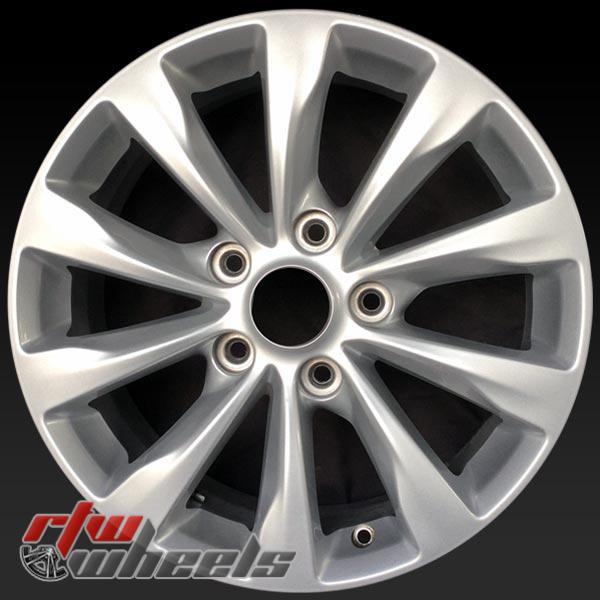 17 inch Chrysler Pacifica OEM wheels 2591 part# 5RJ39GSAAA