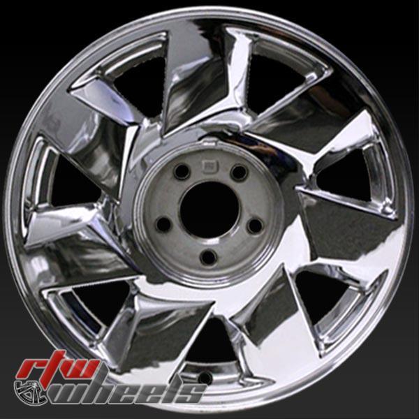 17 inch Cadillac Deville OEM wheels 4553 part# 09593270