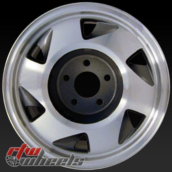 15 inch Chevy S10 / Blazer OEM wheels 5029 part# 09592780