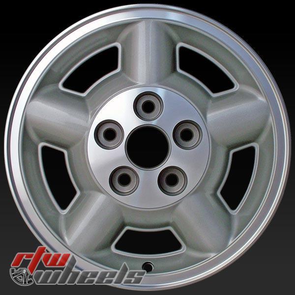 15 inch Chevy S10 / Blazer OEM wheels 5038 part# 09591907