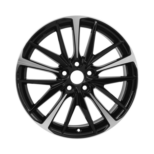"""19x8"""" Machined factory replacement wheel for Toyota Camry replica 75222"""