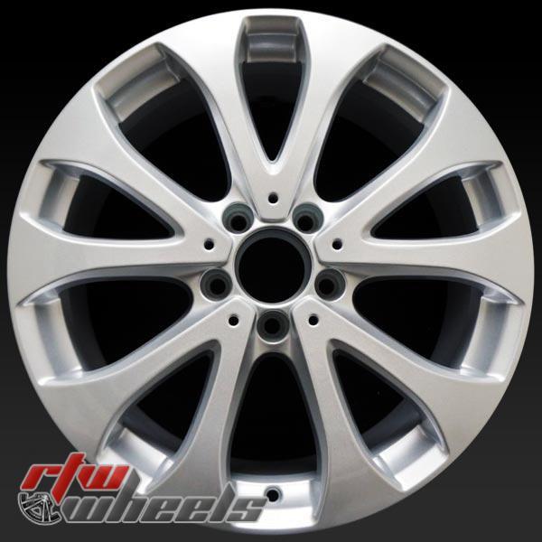 18 inch Mercedes E Class OEM wheels 85539 part# 21340111007X45, 2134011100