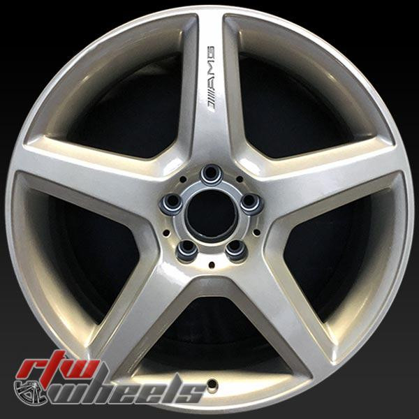 19 inch Mercedes ML550 OEM wheels 85072 part# 1644016202