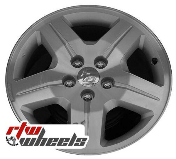 17 inch Dodge Caliber  OEM wheels 2287 part# OYW387RMAA, 05191765AA, YW38PAKAB