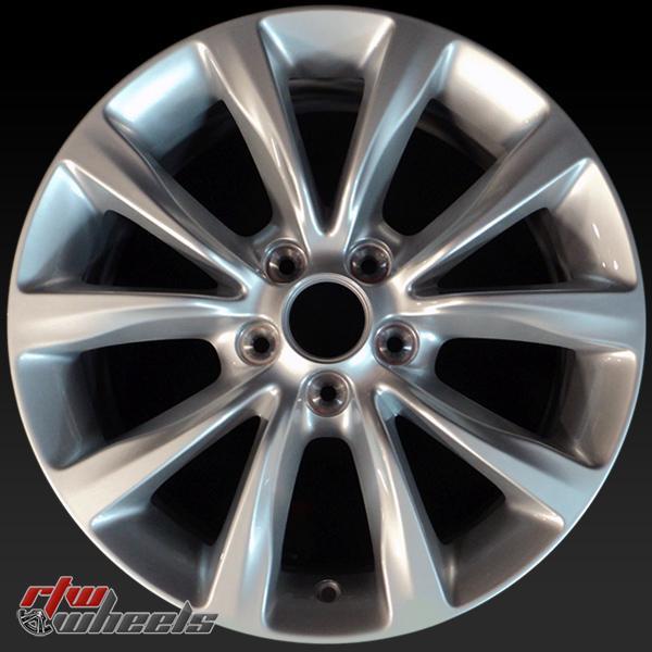17 inch Chrysler 200  OEM wheels 2513 part# 1WM44XZAAA, 1WM44XZAAB
