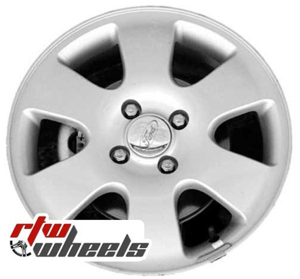 16 inch Ford Focus  OEM wheels 3438 part# YS4Z1007GA, YS411007GA