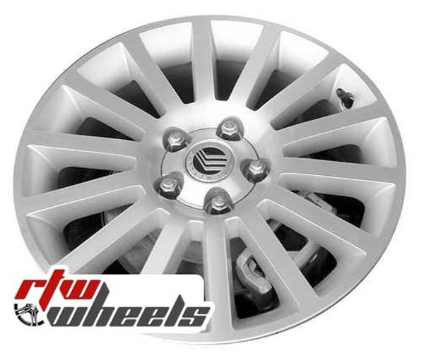 17 inch Mercury Milan  OEM wheels 3632 part# 6N7C1007BB, 6N7C1007BC,  6N7C1007BD