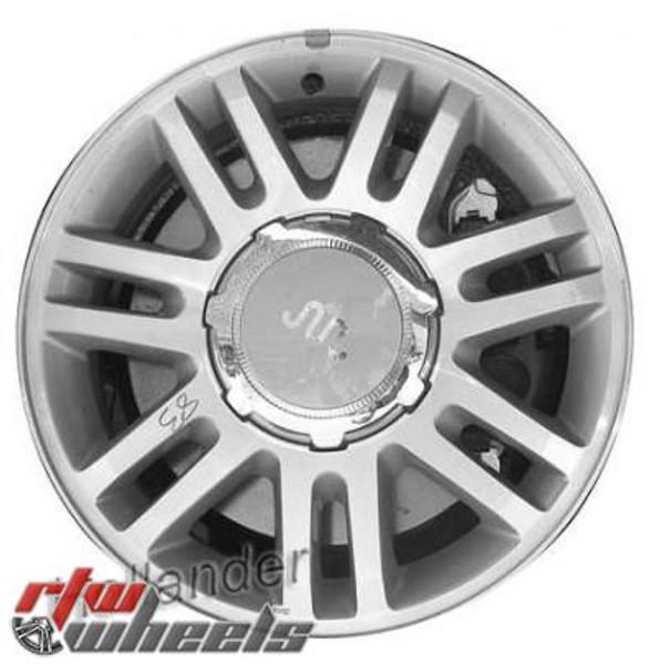 18 inch Ford F150  OEM wheels 3784 part# 9L3Z1007H, 9L341007NB, 9L341007NB, 9L3Z1007D, AL3Z1007F