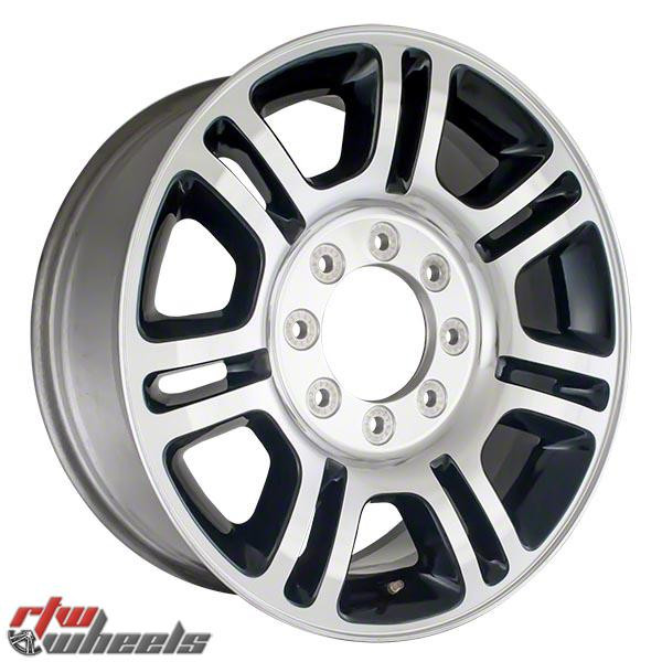20 inch Ford F250 F350  OEM wheels 3845 part# BC3Z1007D, BC341007DA, BC341007DB