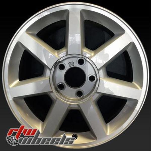 17 inch Cadillac   OEM wheels 4582 part# 9596522