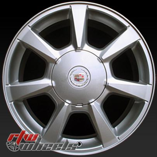 """Cadillac CTS wheels for sale 2008-2009. 17"""" Silver OEM rims 4623"""