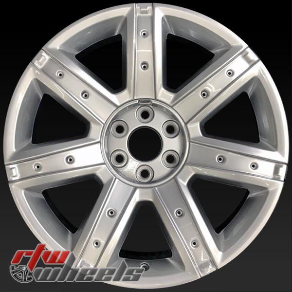 "22"" Cadillac Escalade oem wheels 2015-2017 Silver rims 4739 NO inserts"