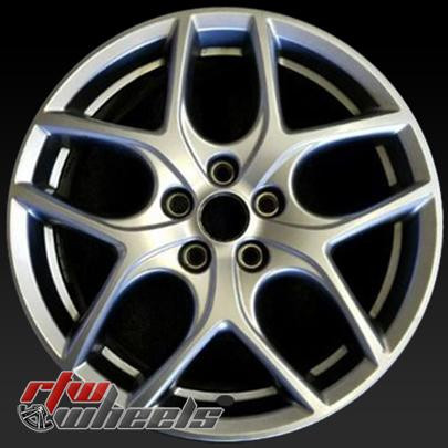 17 Ford Focus Oem Wheels 2015 2017 Silver Alloy Factory Rims 10011