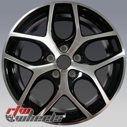 17 Ford Focus Oem Wheels 2015 2017 Machined Alloy Factory Rims 10012