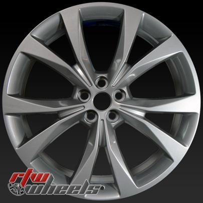 Inch Ford Edge Oem Wheels  Part Fkza Fkzb