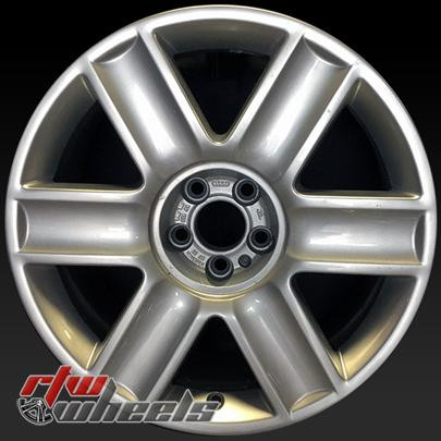 17 Audi Tt Wheels For Sale 2003 2006 Silver Rims 58762