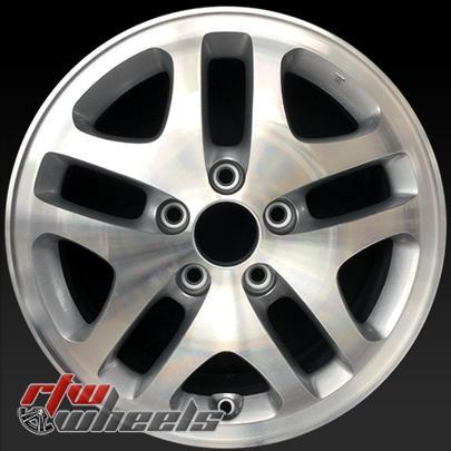 16 Honda Accord Oem Wheels For Sale 2001 2002 Machined Stock Rims 63823