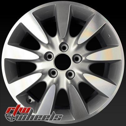 Honda Factory Rims >> Honda Accord Wheels For Sale 2006 2007 17 Machined Silver Rims 63919