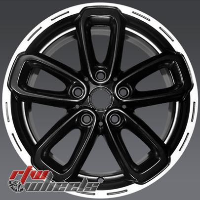 17 Mini Cooper Countryman Oem Wheels 2015 2017 Black Alloy Factory