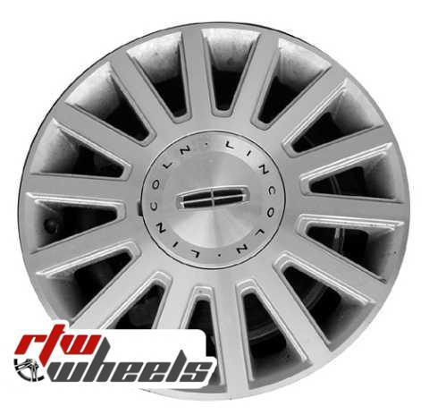 Lincoln Town Car Wheels 2003 2005 17 Chrome Rims 3504