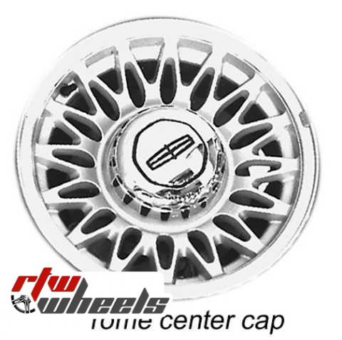 Lincoln Town Car Wheels For Sale 1993 1997 Silver 3053