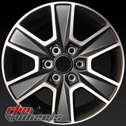 Ford F150 Rims >> 18 Ford F150 Oem Wheels 2015 2017 Machined Alloy Factory Rims 3999