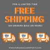 Free shipping on orders over $100 in the lower 48