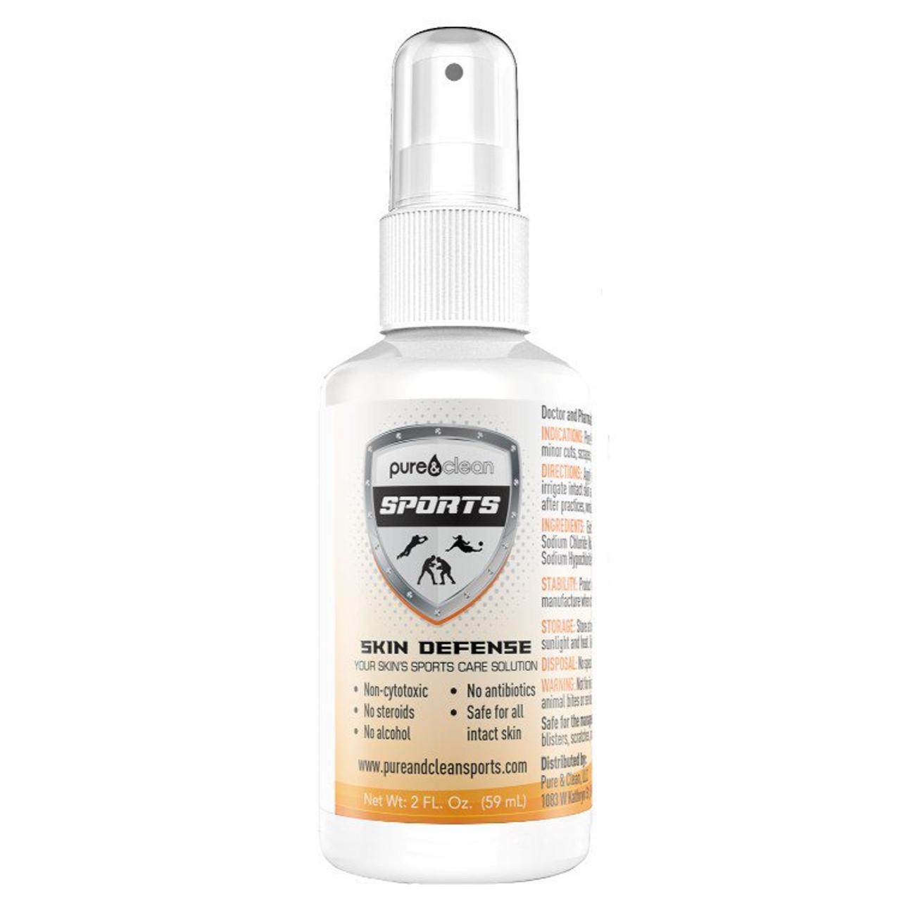 Skin Defense - 2 oz. Spray - 100 ppm HOCl
