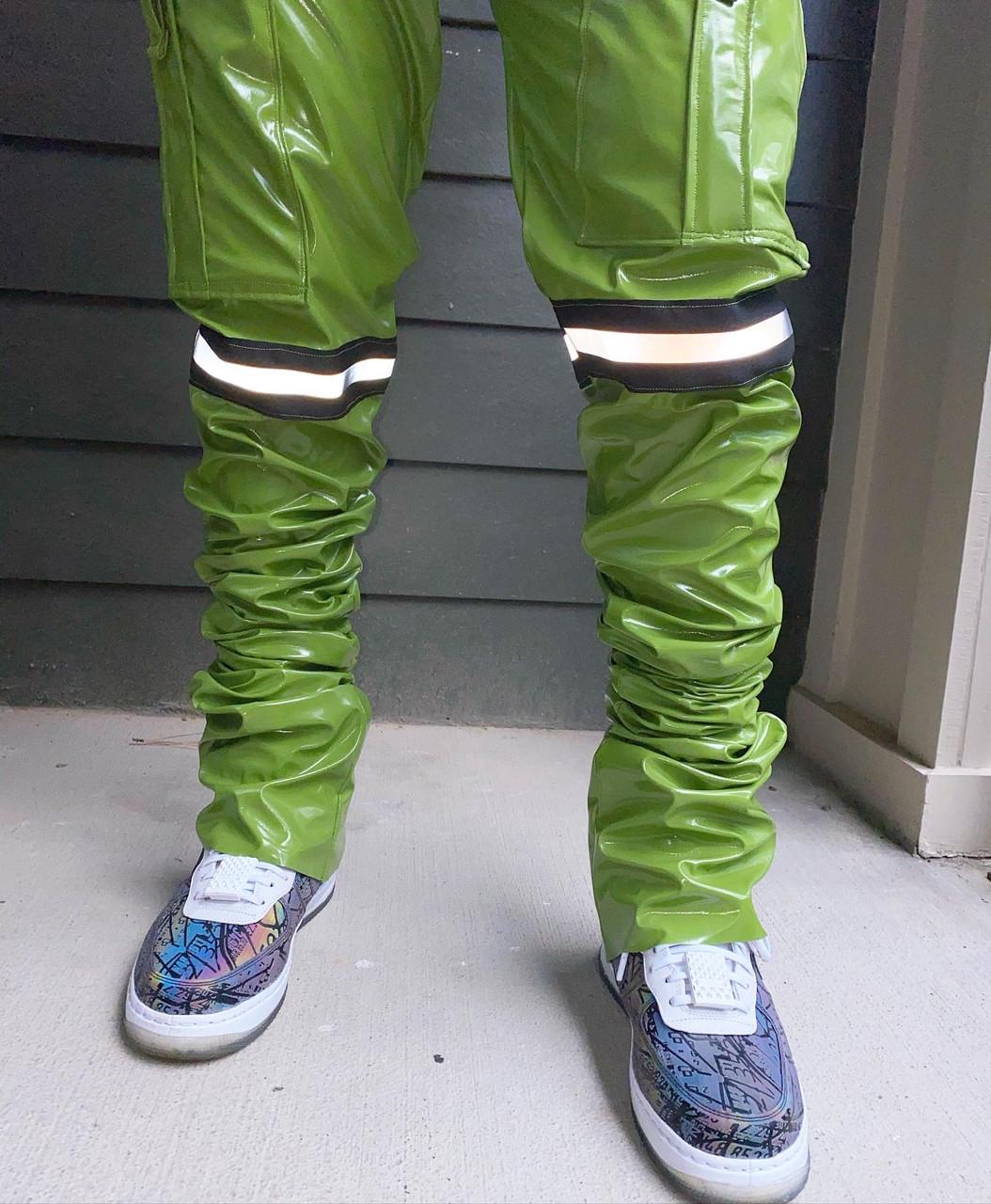 """Leaf Green """"Ellie"""" Pants"""
