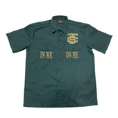"""Forest Green """"IMOM"""" Industrial Shirt"""