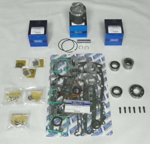 "Chrysler/Force 75 HP 3.375"" Std. Bore Top Guided Power Head Rebuild Kit"