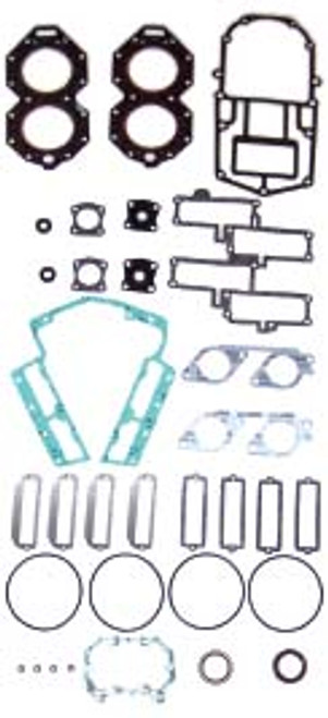 OMC 120 HP 1988-94 , 125 HP 1992-95 , 130 HP 1995-98 , 140 HP 1988-94 V4 Looper Small Bore   Complete Power Head Gasket Kit