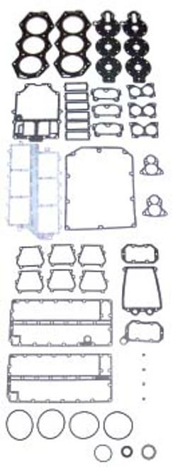 OMC 150 HP 1978-92 , 155 HP 1978-92 , 175 HP 1977-83 , 185 HP 1984-85 , 200 HP 1976-83 , 235 HP 1978-79 , 2.5 Liter 1982-85 V6 Cross Flow  Complete Power Head Gasket Kit