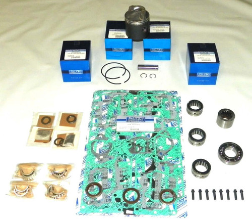 "Chrysler/Force 120 HP 4 Cyl. 3.375"" Std. Bore Top Guided Power Head Rebuild Kit"