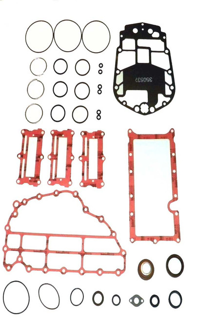 E-Tec 75 Thru 90HP '04-Up 3 Cyl. Complete Power Head Gasket Kit