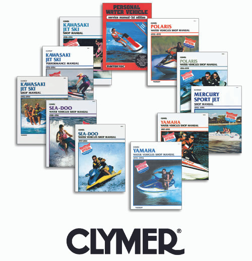 Seadoo 1997-2001 Clymer Shop Manual