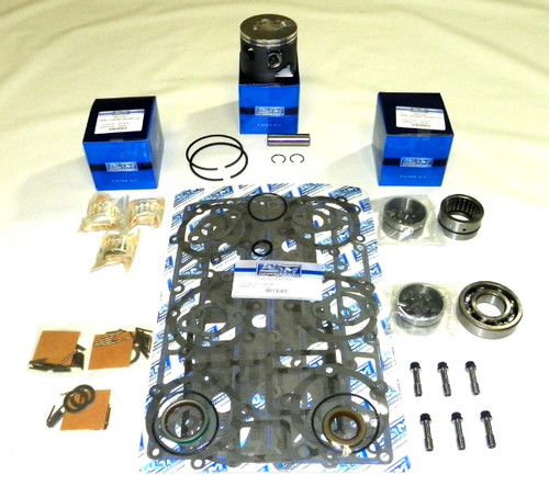 Mercury 1.5 litre DFI 3 cyl. 3.6255 Bore 75, 90, 115 hp Power Head Rebuild Kit