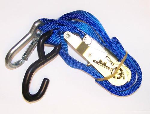 Ratchet Tie Down-Blue