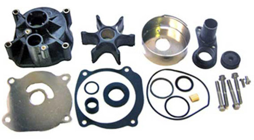 "Johnson/Evinrude Impeller Complete Kit 150 20"", 150 25"", 155, 185, 200 COMM., 225 20"", 235, 250, 275, 300/3.6L, 2.3L, V4 LOOP20, V4-V8, V6-V8 20"" Hp"