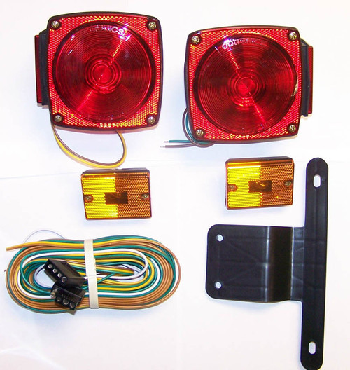 "(Stud Mount) Universal Submersible Under 80"" Light Kit"