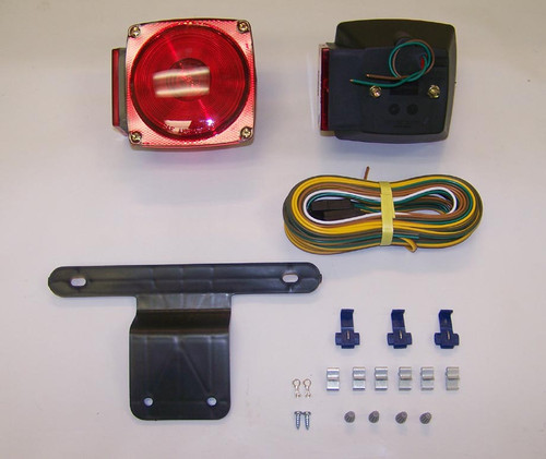 Waterproof Universal Stud Mounted Standard Tail Light Kit