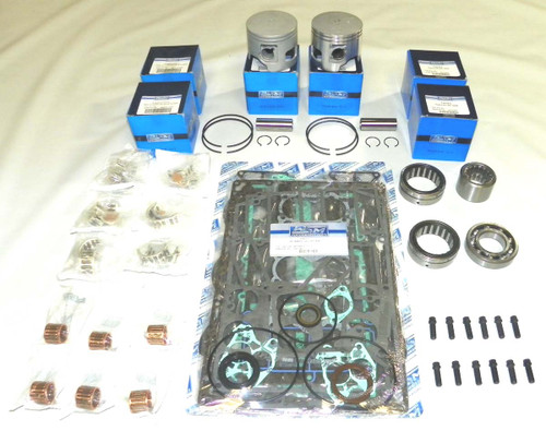 Yamaha V-6 90 degree Carbureted with Vertical Reeds and 6R5 Rod Power Head Re-Build Kit